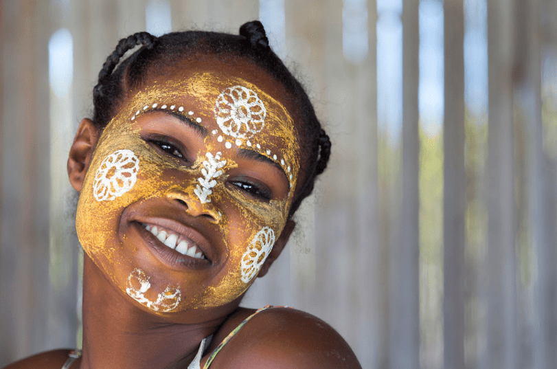 Why Malagasy Women Paint Their Faces